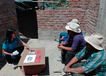 Building confidence in the areas affected by the FENC (Acronym in Spanish for the El Niño Costero Phenomenon)